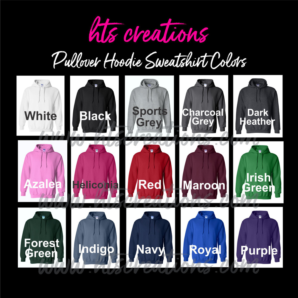 Hoodie Cotton Sweatshirt COLORS AVAILABLE