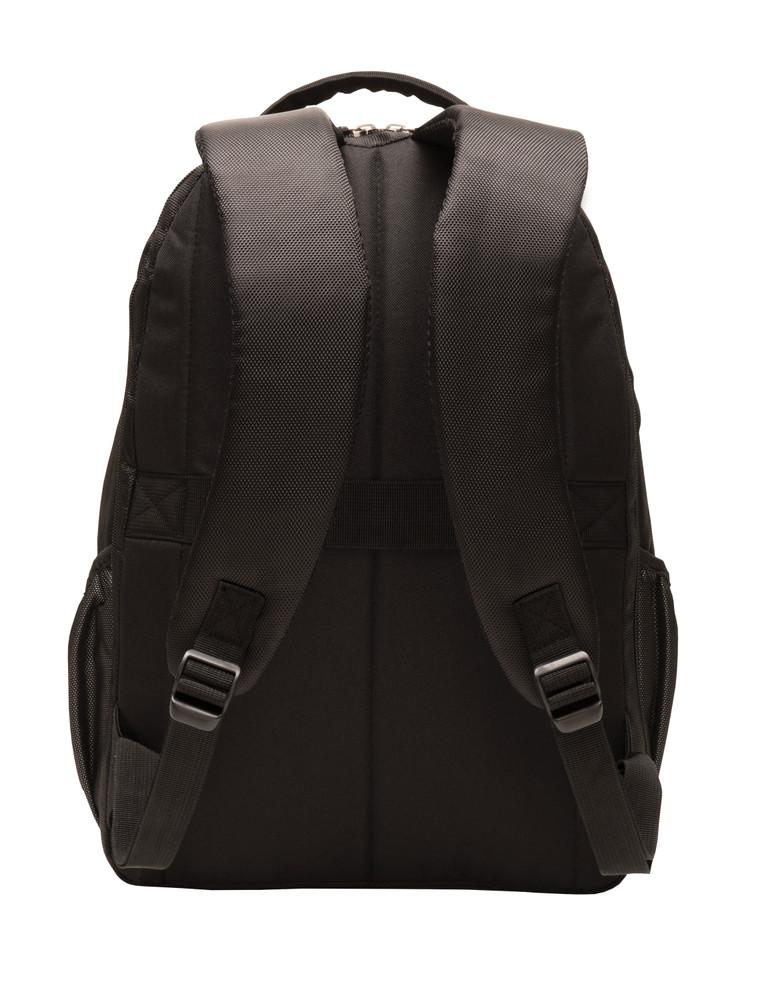 Backpack with Waterbottle Holder BACKSIDE Vew