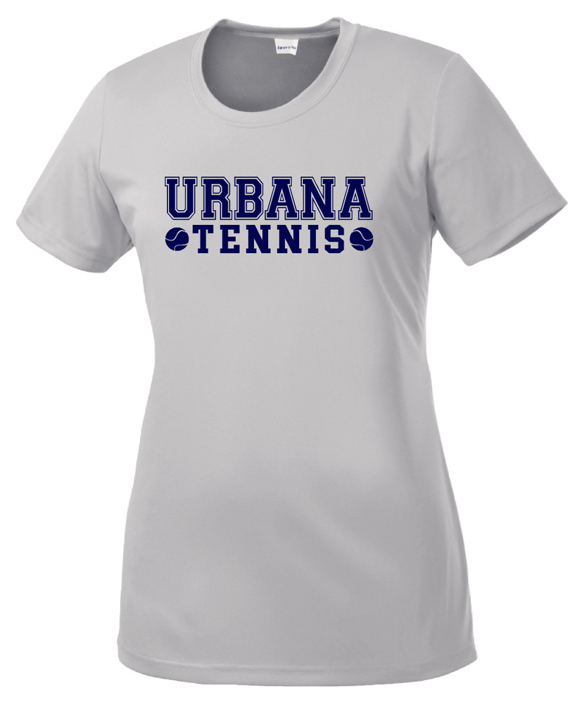 UHS Urbana Hawks TENNIS T-shirt Performance Posi Charge Competitor Many Colors Available LADIES SZ XS-4XL
