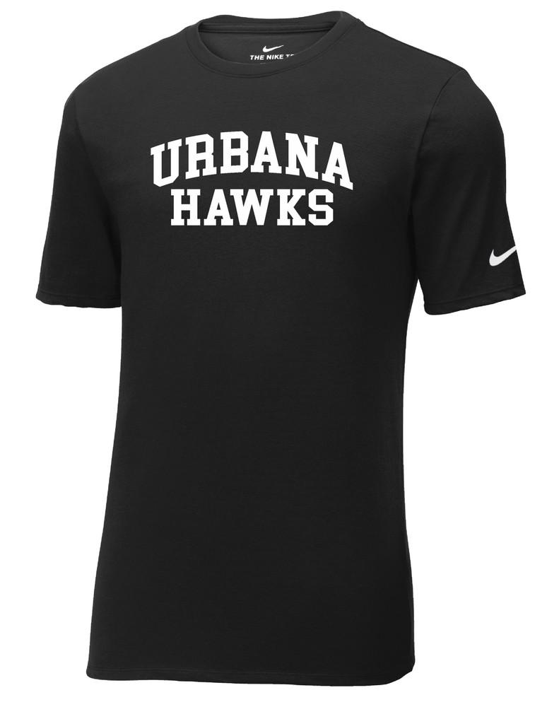 UHS Urbana Hawks T-shirt Cotton Many Colors Available T-shirt NIKE SZ S-3XL BLACK