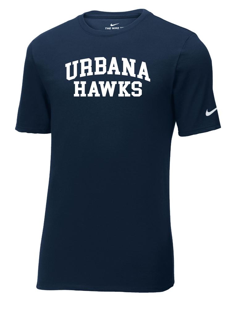 UHS Urbana Hawks T-shirt Cotton Many Colors Available T-shirt NIKE SZ S-3XL NAVY