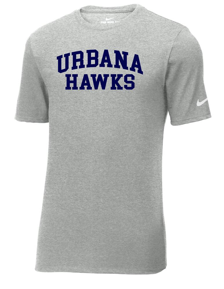 UHS Urbana Hawks T-shirt Cotton Many Colors Available T-shirt NIKE SZ S-3XL SPORTS GREY