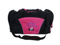 Dancers Dance Ballet Personalized Embroidered HOT PINK DUFFEL Font Style CHILDS PLAY