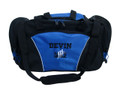 Dancers Dance Ballet Personalized Embroidered ROYAL BLUE DUFFEL Font Style VARSITY