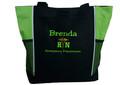 Caduceus Nursing Registered Nurse RN BSN CNA LPN Student HOT PINK Tote Bag Font Style JESTER