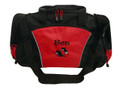 Tap Shoes Irish Dance Jazz Personalized Embroidered RED DUFFEL Font Style JESTER