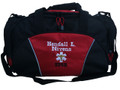 Star of Life Caduceus RED DUFFEL EMT EMS Paramedic First Responder Personalized Embroidered Font Style WESTERN