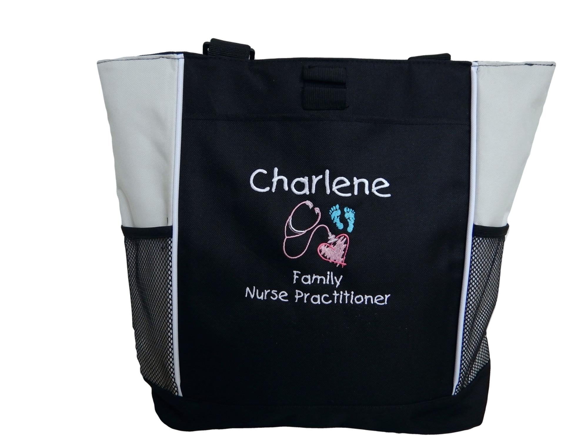 Nurse Bag RN Nurse Tote Bag Nurse Gift Embroidered RN With Stethoscope Royal Blue Nurse Tote Bag RN Nurse Gift