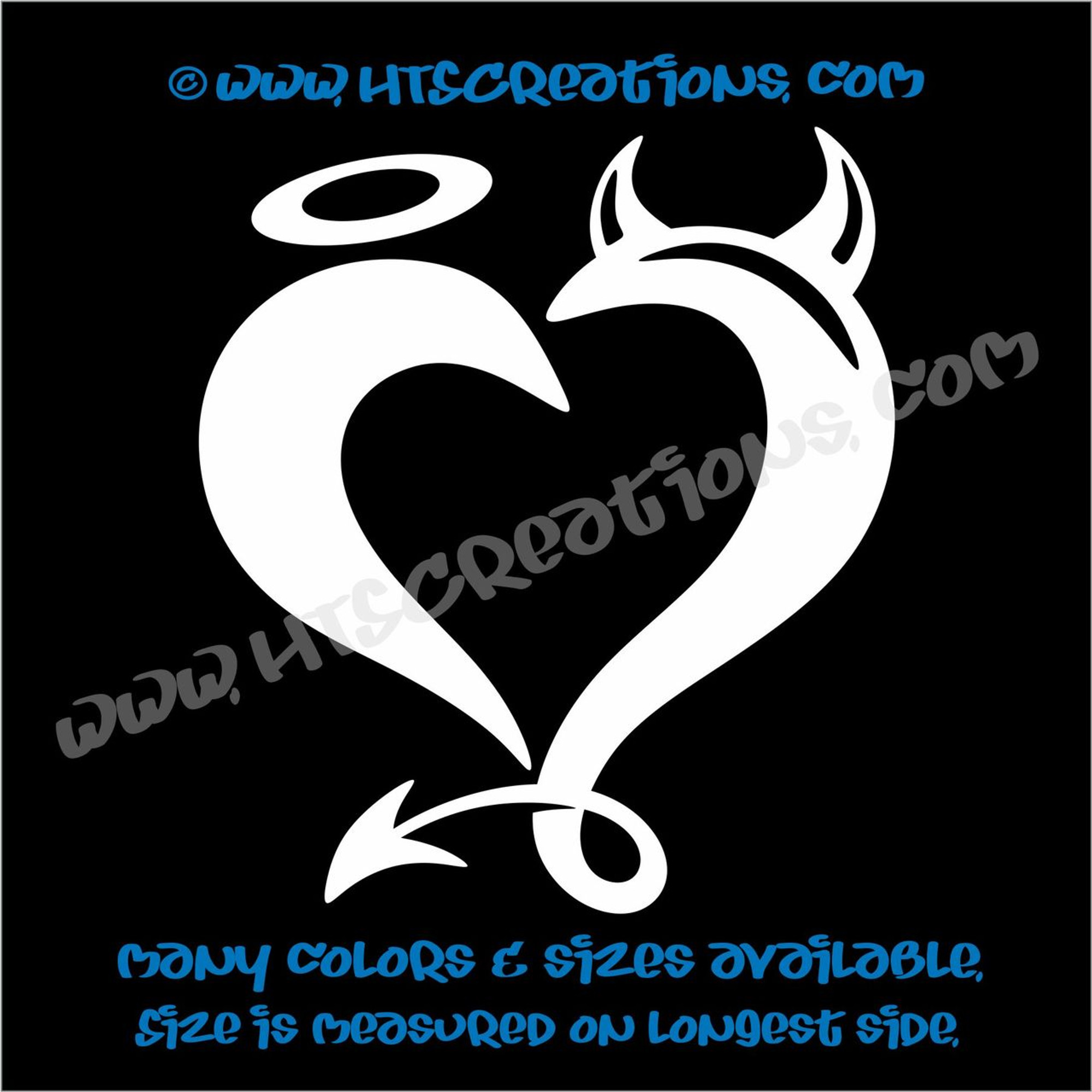 Home Décor Items Vinyl Decal Sticker Car Truck Wall Laptop 36 Colors Tribal Love Heart Wall Decals & Stickers