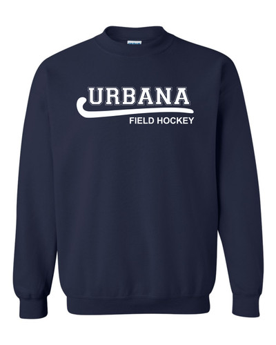 Urbana FIELD HOCKEY Cotton Crewneck Sweatshirt Many Colors Available YOUTH Size S-XL NAVY