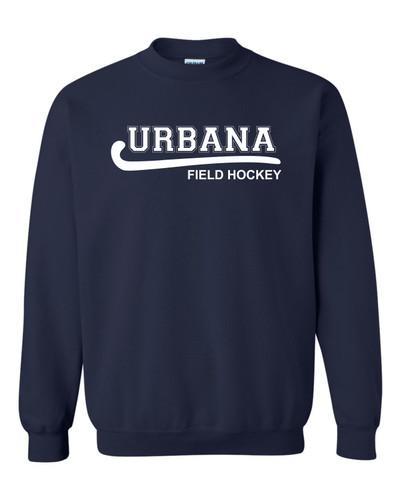 Urbana FIELD HOCKEY Cotton Crewneck Sweatshirt Many Colors Available YOUTH Size S-XL NAVY