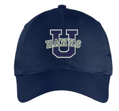 Urbana Hawks Baseball Hat Nike U Embroidered Many Colors Available NAVY