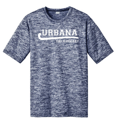 Urbana Hawks FIELD HOCKEY T-shirt Performance PosiCharge Electric Shirt Many Colors Available Sizes XS-4XL TRUE NAVY ELECTRIC