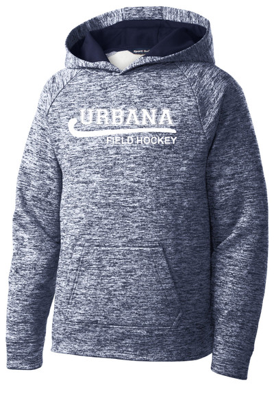 Urbana Hawks FIELD HOCKEY Hoodie Performance PosiCharge Electric Heather Fleece Pullover Sweatshirt Many Colors Available YOUTH Sizes S-XL TRUE NAVY ELECTRIC