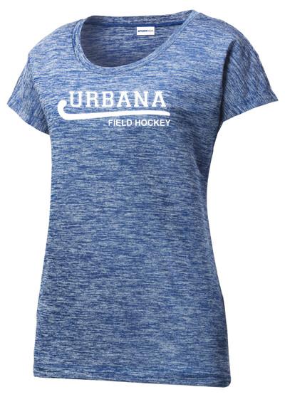 Urbana Hawks FIELD HOCKEY T-shirt Performance PosiCharge Electric Shirt Many Colors Available LADIES SZ XS-4XL  TRUE ROYAL ELECTRIC
