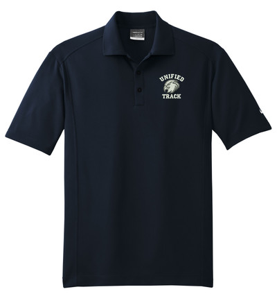 UHS Urbana Hawks UNIFIED TRACK NIKE Dri-FIT Classic Polo Shirt SZ XS-4XL  MIDNIGHT NAVY
