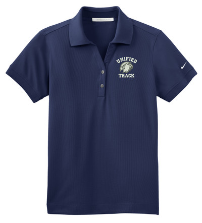 UHS Urbana Hawks UNIFIED TRACK NIKE Dri-FIT Classic Polo Shirt LADIES SZ S-2XL MIDNIGHT NAVY