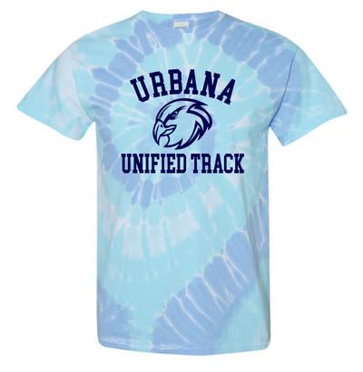UHS Urbana Hawks T-shirt Tie Dyed WILDFLOWER UNIFIED TRACK SZ S-2XL