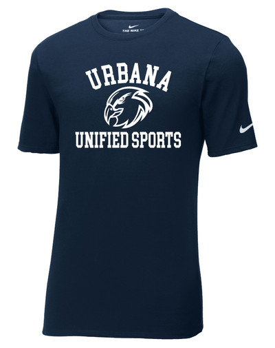 UHS Urbana Hawks T-shirt NIKE Cotton UNIFIED SPORTS Many Colors Available Sz S-3XL NAVY