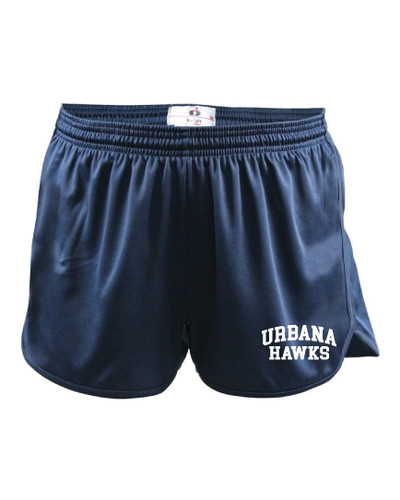 UHS Urbana Hawks Shorts Track Running LADIES Many Colors Available Sizes  XS-2XL NAVY