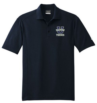 UHS Urbana Hawks NIKE Dri-FIT Classic Polo Shirt TENNIS  Navy or White Color Available  SZ XS-4XL MIDNIGHT NAVY