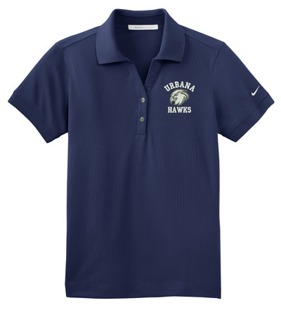 UHS Urbana Hawks NIKE Dri-FIT Classic Polo Shirt Navy or White Color Available SZ XS-4XL MIDNIGHT NAVY