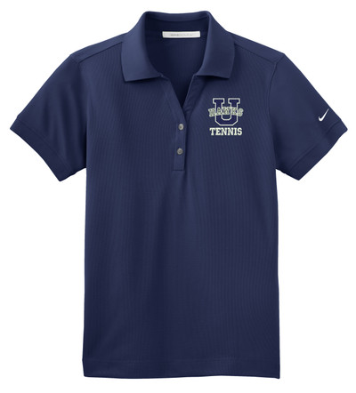 UHS Urbana Hawks NIKE Dri-FIT Classic Polo Shirt LADIES TENNIS Navy or White Color Available  SZ XS-4XL MIDNIGHT NAVY