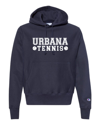 UHS Urbana Hawks Cotton CHAMPION TENNIS Reverse Weave Cotton Hoodie Sweatshirt Many Colors Available  Sz S-3XL NAVY