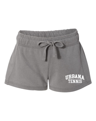 UHS Urbana Hawks Shorts French Terry COMFORT COLORS GREY Shorts TENNIS LADIES SZ S-XL