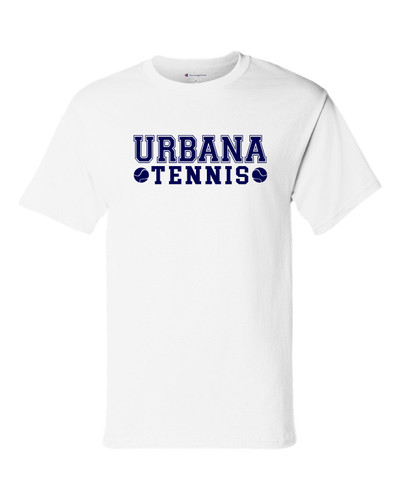 UHS Urbana Hawks T-shirt Cotton CHAMPION TENNIS Many Colors Available Sz S-3XL WHITE