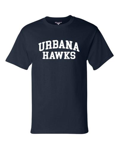Urbana Hawks T-shirt Cotton CHAMPION Many Colors Available YOUTH Sz S-XL NAVY