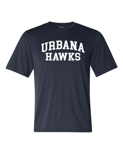 Urbana Hawks T-shirt Performance Double Dry CHAMPION Many Colors Available Sz S-3XL NAVY