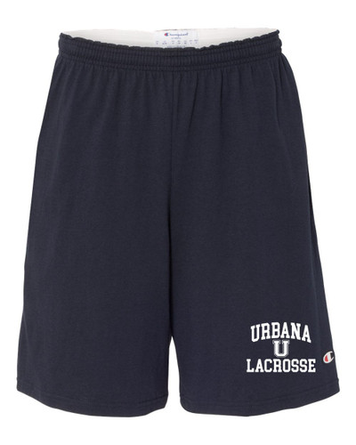 Urbana Hawks LACROSSE Shorts Cotton with Pockets CHAMPION Many Colors Available SIZE  S-3XL