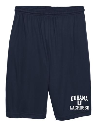 Urbana Hawks LACROSSE Shorts Performance with Pockets Many Colors Available SZ S-3XL   NAVY