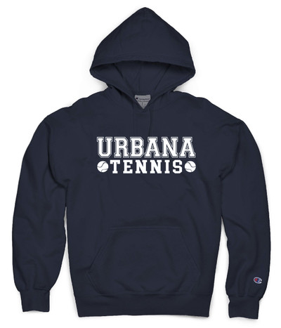 UHS Urbana Hawks Hoodie Garment Dyed Sweatshirt CHAMPION Many Colors Available Sz S-3XL NAVY
