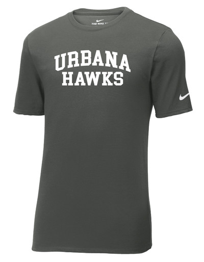 UHS Urbana Hawks T-shirt Cotton Many Colors Available T-shirt NIKE SZ S-3XL ANTHRACITE