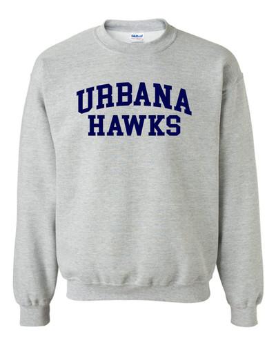 Urbana FIELD HOCKEY Cotton Crewneck Sweatshirt Many Colors Available Size S-3XL SPORTS GREY