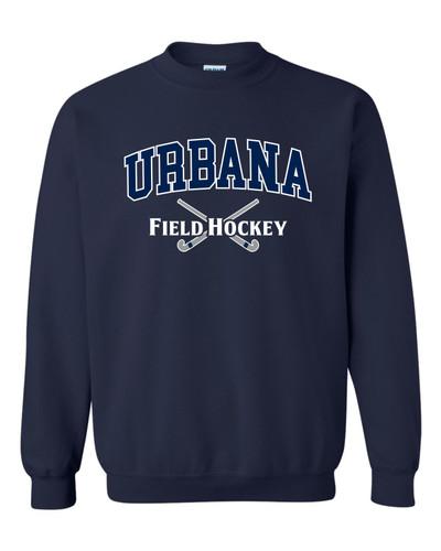 Urbana FIELD HOCKEY Cotton Crewneck Sweatshirt Many Colors Available Size S-3XL NAVY