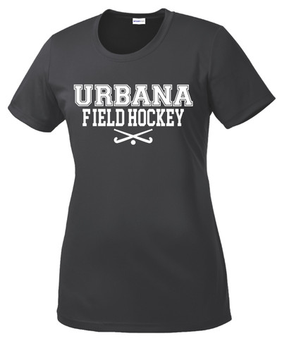 Urbana FIELD HOCKEY T-shirt Performance Posi Charge Competitor Many Colors Available LADIES SZ XS-4XL IRON GREY