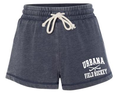 URBANA HAWKS Shorts FIELD HOCKEY Enzyme-Washed Rally LADIES Many Colors Available SZ S-2XL