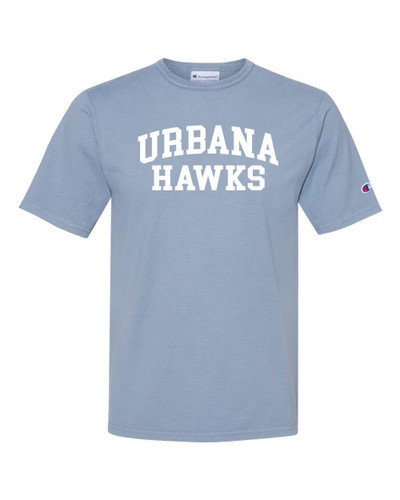 Urbana FIELD HOCKEY T-shirt Cotton CHAMPION Garment Dyed Many Colors Available Sz S-3XL SALTWATER