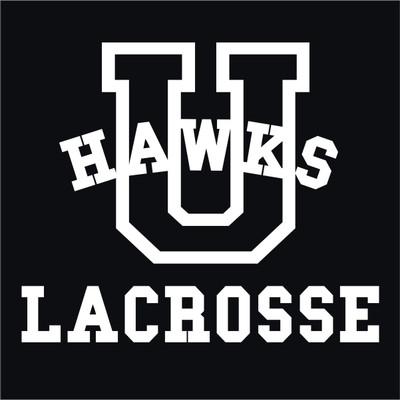 Urbana Hawks Vinyl Decal Lacrosse Car Truck Mirror Wall Laptop Tablet