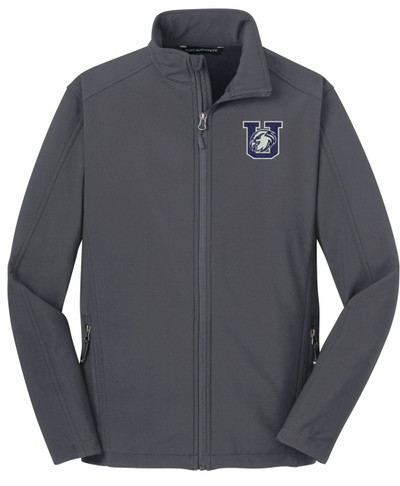 Urbana Hawks Softshell Jacket UNISEX MENS,  WOMENS & YOUTH SIZES BATTLESHIP GREY