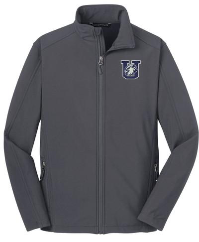 Urbana Hawks Softshell Jacket UNISEX MENS,  WOMENS & YOUTH SIZES BATTLESHIP GREY