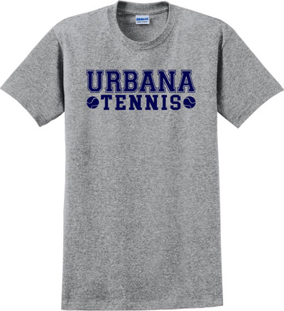 UHS Urbana Hawks TENNIS T-shirt Cotton LADIES Many Colors Available SPORT GREY