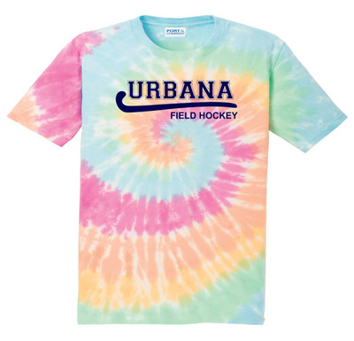 Urbana FIELD HOCKEY T-shirt Tie Dyed PASTEL