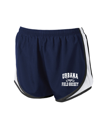 URBANA HAWKS Shorts Cadence FIELD HOCKEY Sticks Running LADIES Many Colors Available SZ XS-2XL NAVY