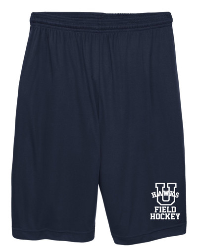 URBANA HAWKS Shorts FIELD HOCKEY Performance with Pockets FIELD HOCKEY Colors Navy or Grey Available NAVY