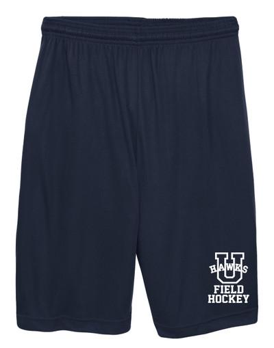 URBANA HAWKS Shorts FIELD HOCKEY Performance with Pockets FIELD HOCKEY Colors Navy or Grey Available NAVY