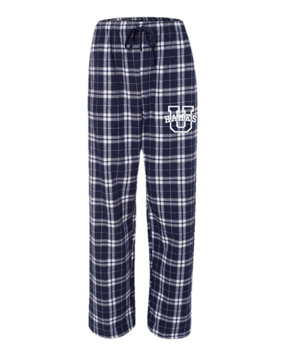 Urbana Hawks Flannel Lounge Pants with Pockets Boxercraft Unisex ADULT Size S-3XL